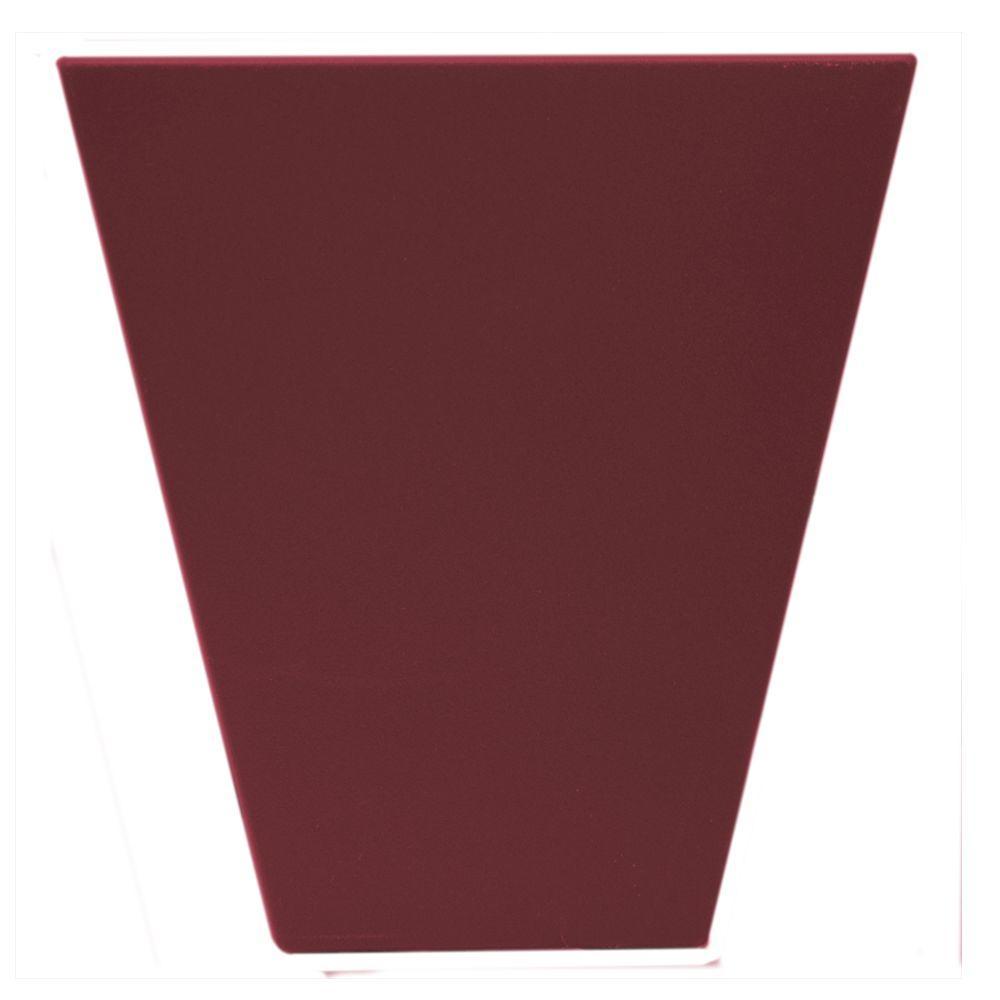 6 in. Flat Panel Window Header Keystone in 078 Wineberry