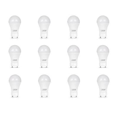 60-Watt Equivalent A19 GU24 Dimmable CEC Title 24 Compliant LED Energy Star 90+ CRI Light Bulb Soft White (12-Pack)