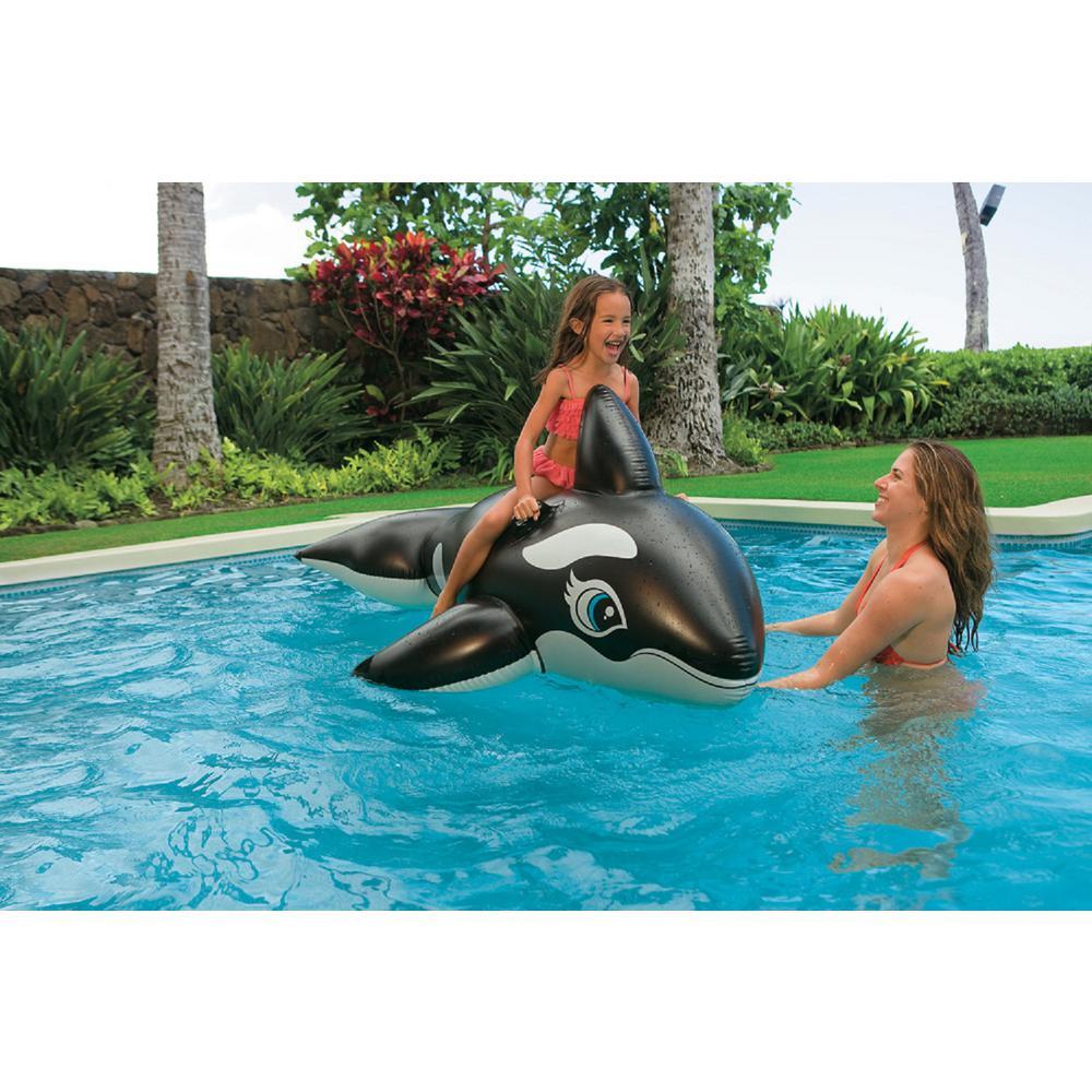 Jumbo Whale Ride-On Pool Inflatable