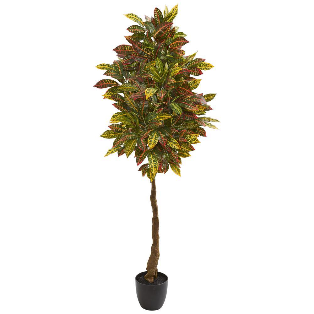 Indoor 5 in. Croton Artificial Tree