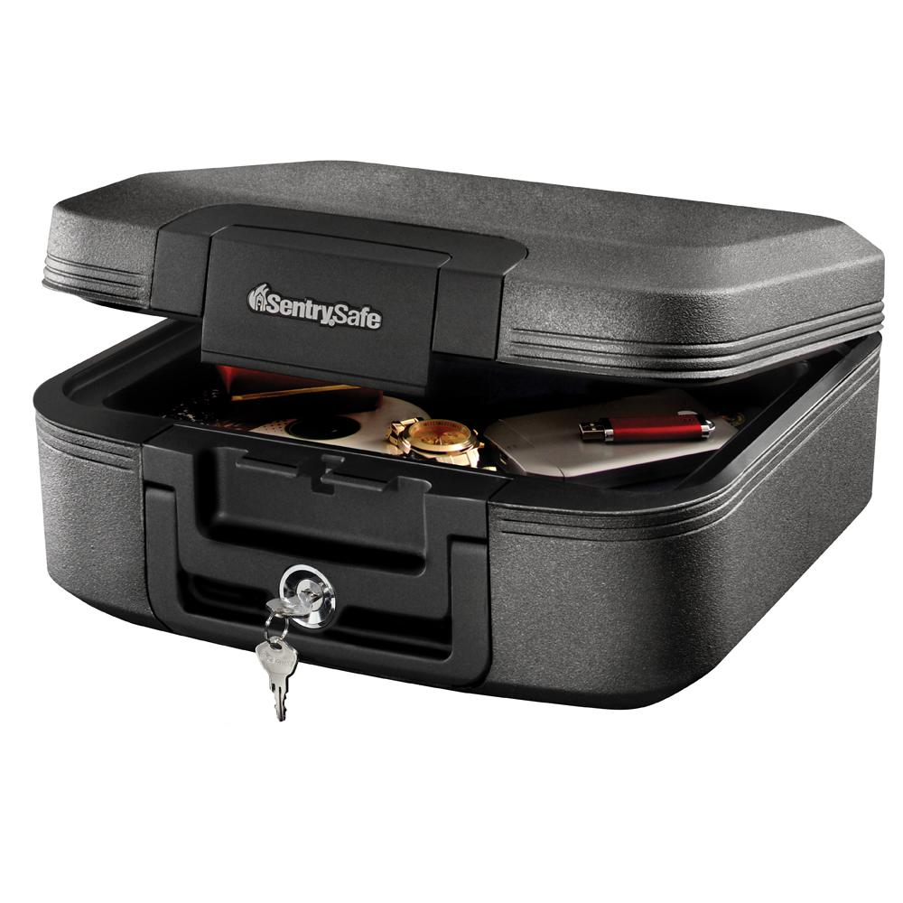 SentrySafe CHW20121 0.28 cu ft Fireproof Safe and Waterproof Safe with Key Lock