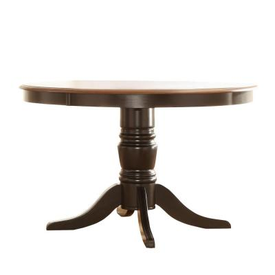 Anna Antique Black Dining Table