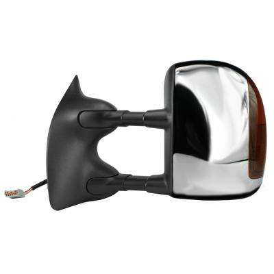 Towing Mirror for 01-05 FORD Excursion 01-07 FORD F250 F350 F450 F550 with Signal Foldaway LH Heated Power