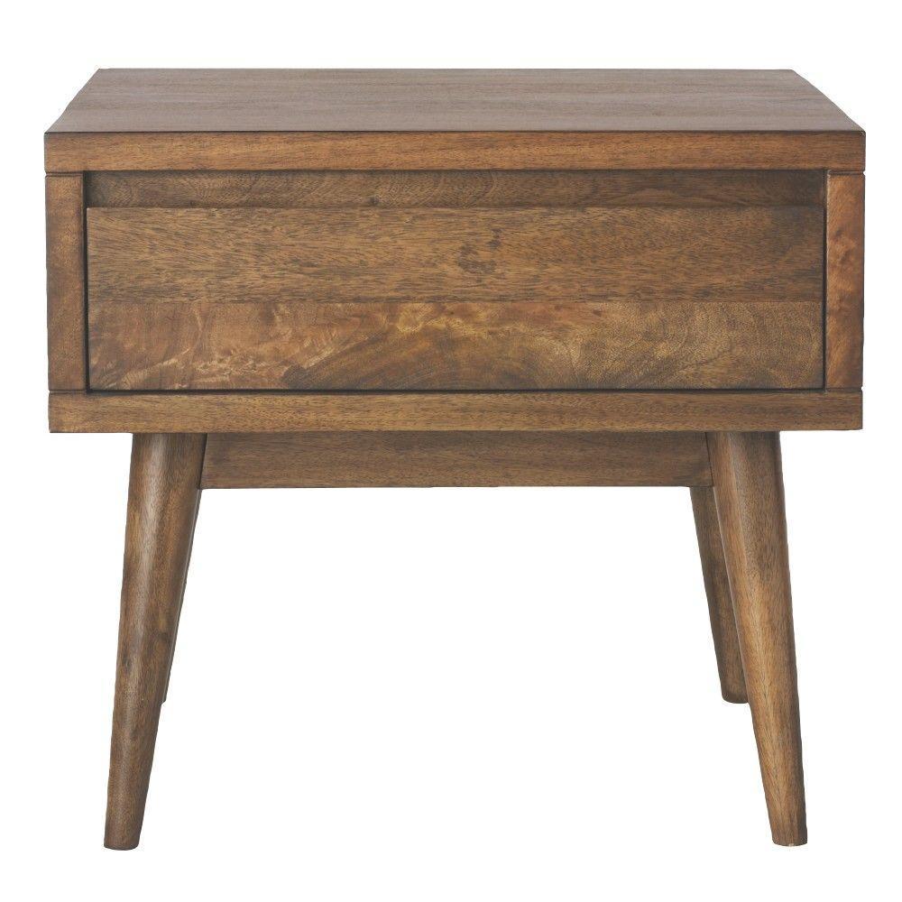 Conrad Antique Natural End Table