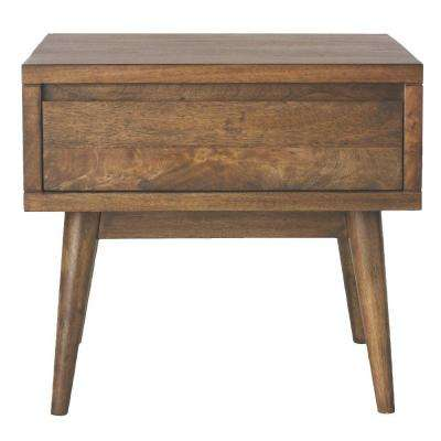 Conrad Antique Natural End Table