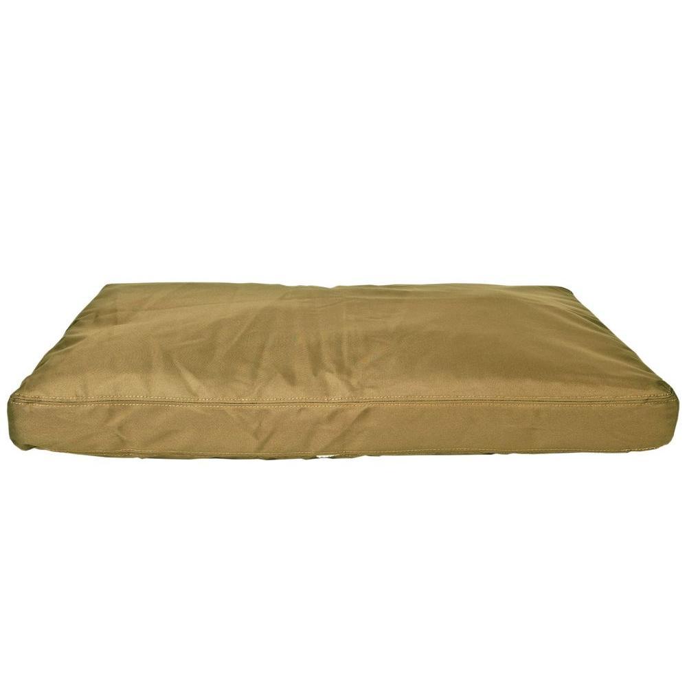 null X-Large Brutus Tuff Khaki Saddle Stitch Petnapper Dog Bed