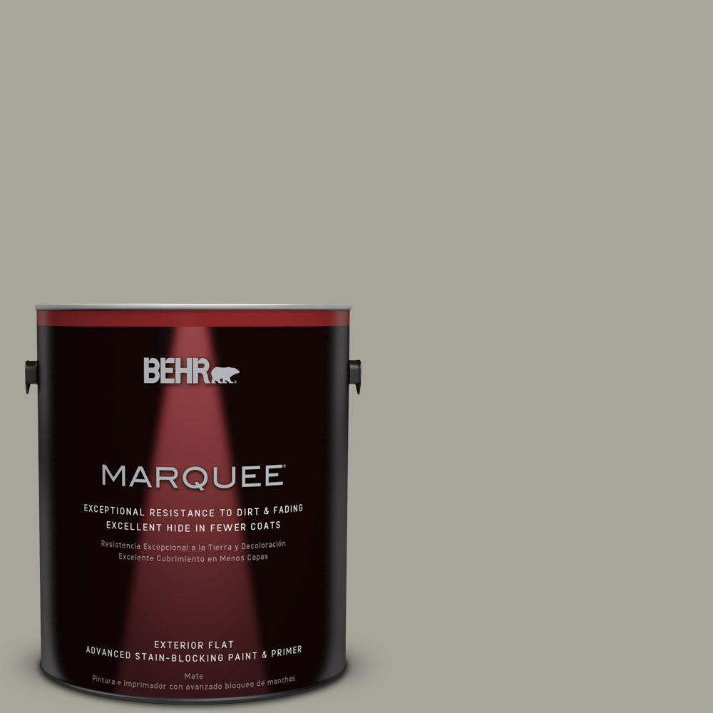 BEHR MARQUEE 1-gal. #N370-4 Confederate Flat Exterior Paint