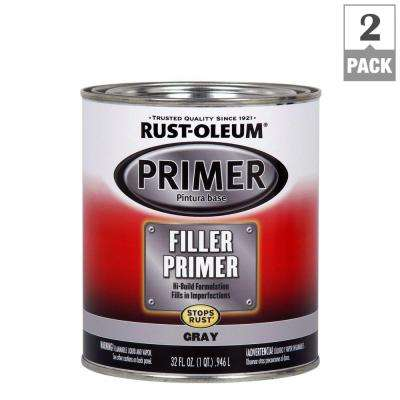1 qt. Gray Filler Primer (2-Pack)