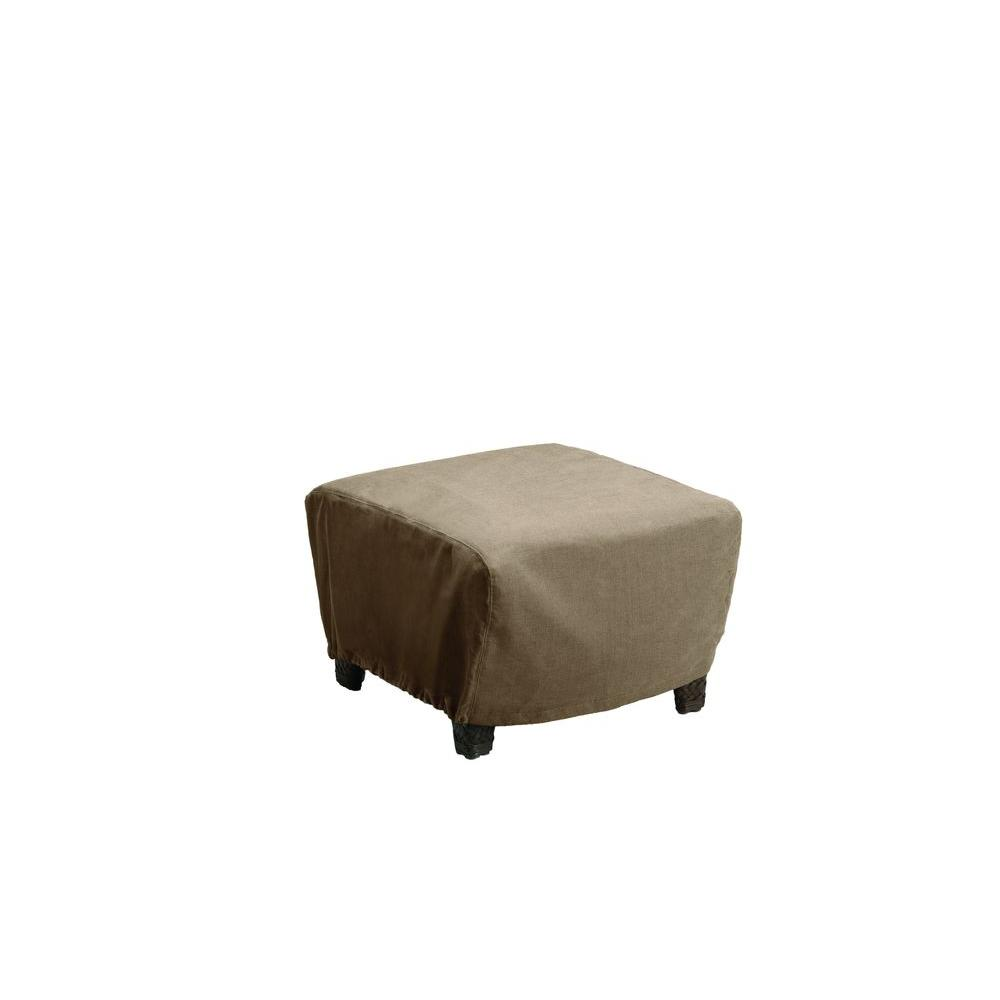 Brown Jordan Vineyard Patio Furniture Cover For The Ottoman 3870 6128 The Home Depot
