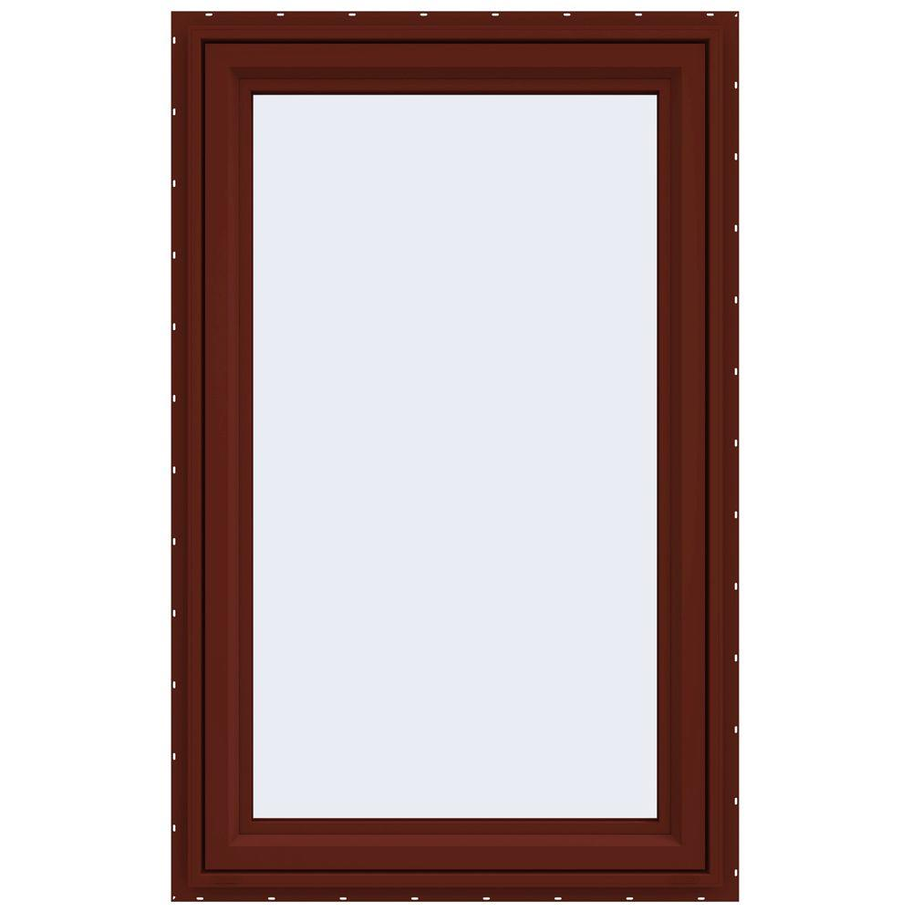 29.5 in. x 47.5 in. V-4500 Series Right-Hand Casement Vinyl Window