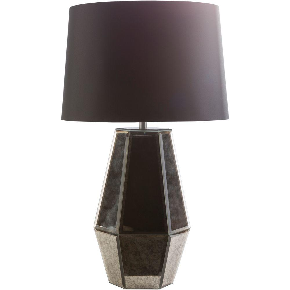 Rozier 27.5 in. Pewter Indoor Table Lamp