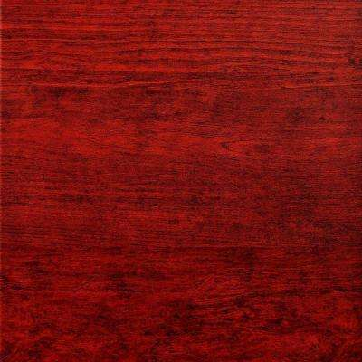 Flat Panel 2 ft. x 2 ft. Lay-in Ceiling Tile in Cherry