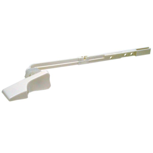 Trim-to-Fit Toilet Handle in White