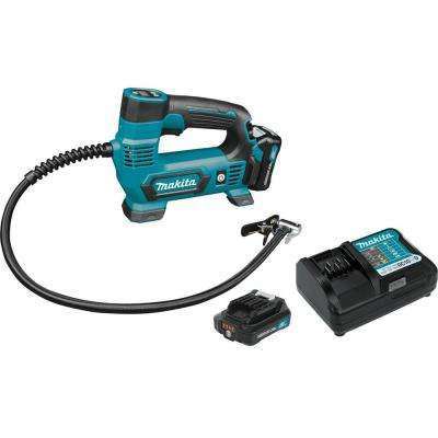 12-Volt 2.0 Ah MAX CXT Lithium-Ion Cordless Inflator Kit