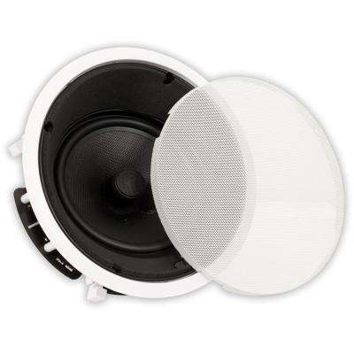In-Ceiling 8 in. Angled Speaker Home Theater Surround Sound