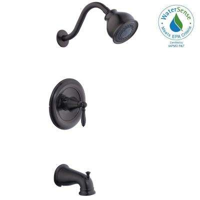 Varina Single-Handle 3-Spray Tub and Shower Faucet in Oil Rubbed Bronze (Valve Included)