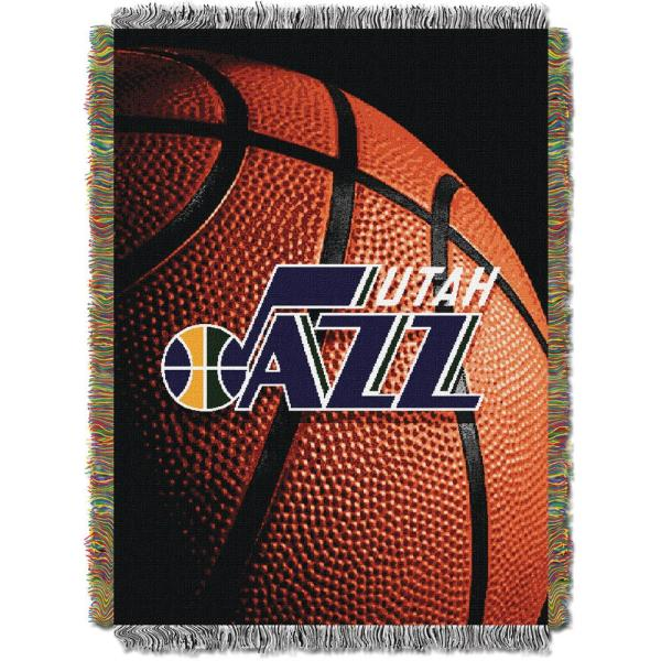 Jazz Photo Real Multi Color Polyester Tapestry throw 1NBA051030027RET
