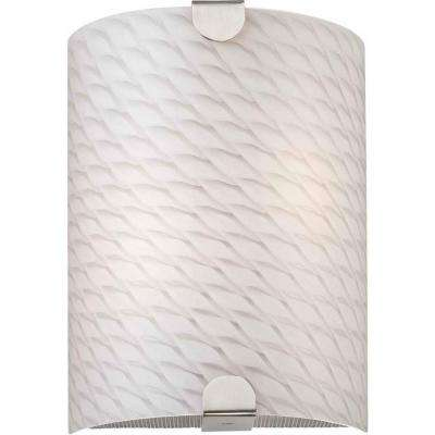 Esprit 2-Light Brushed Nickel Wall Sconce