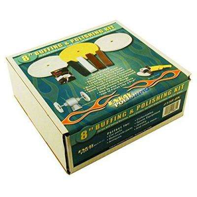 8 in. Buffing and Polishing Kit