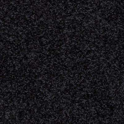 Carpet Sample - Whimsical - In Color Black To Basic Twist 8 in. x 8 in.