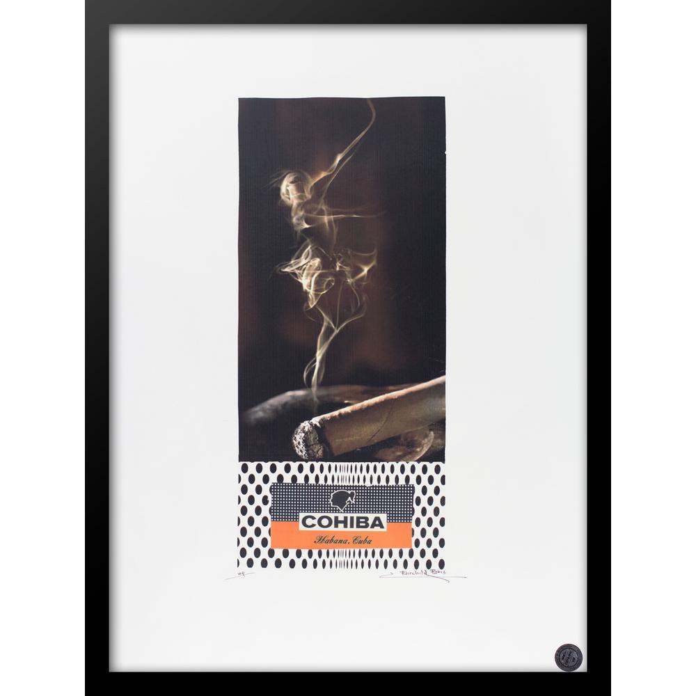 "30 in. x 22 in. ""La Danza VIP"" by Fairchild Paris Framed Print Ad Wall Art"