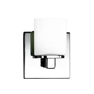 Marond Collection 1-Light Chrome Wall Sconce