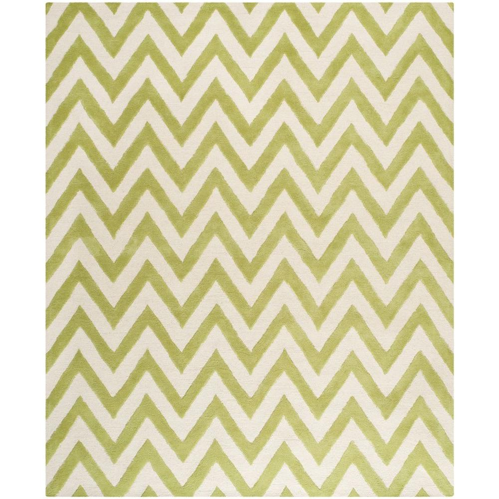 Cambridge Green/Ivory 8 ft. x 10 ft. Area Rug