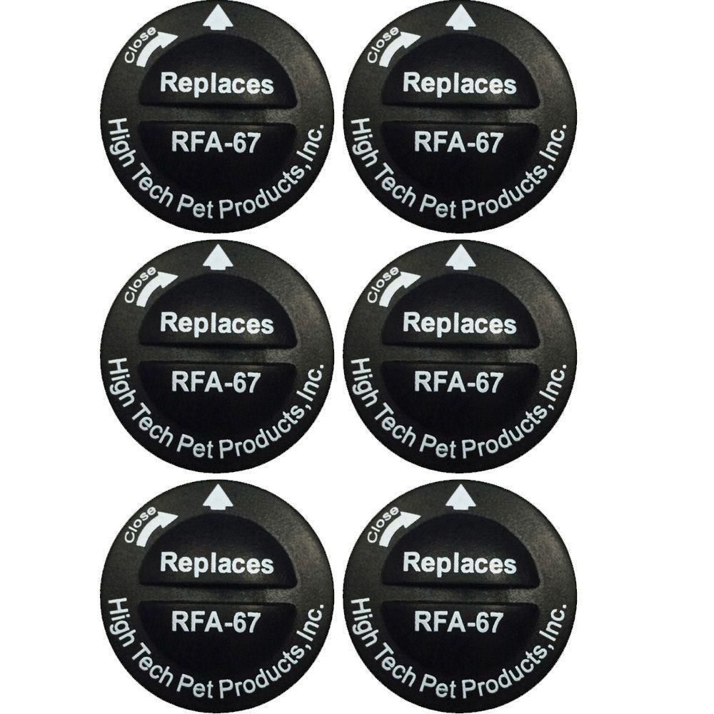 PetSafe Compatible RFA-67 6-Volt Replacement Battery (6-Pack)