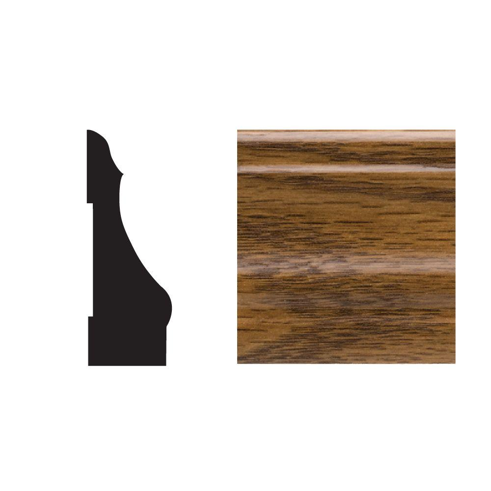 Royal Mouldings 5445 9/16 in. x 2-1/4 in. x 7 ft. PVC Composite Colonial Highlands Oak Casing