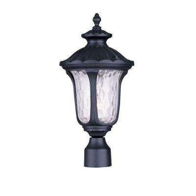 Oxford Outdoor Black Post Head Lantern