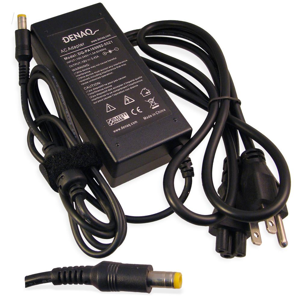 19-Volt 3.42 Amp 5.5 mm-2.1mm AC Adapter for ACER TravelMate Series