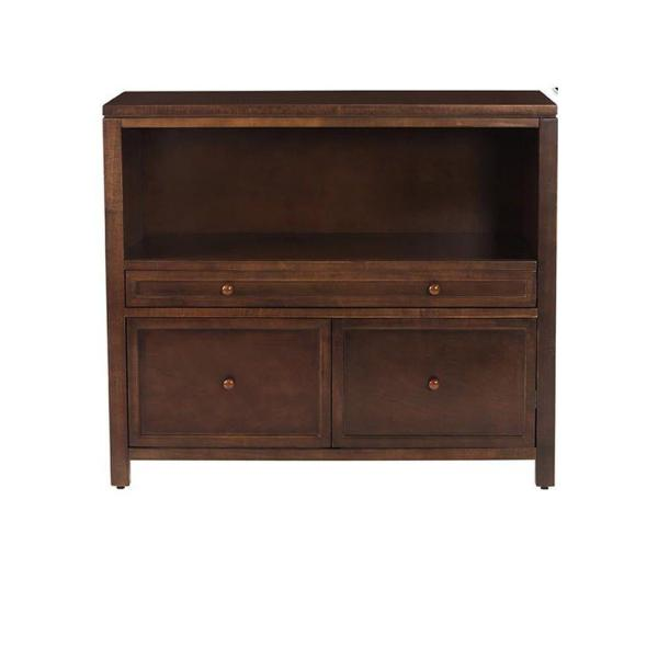 Martha Stewart Living Craft Space Sequoia Brown File Cabinet with 3