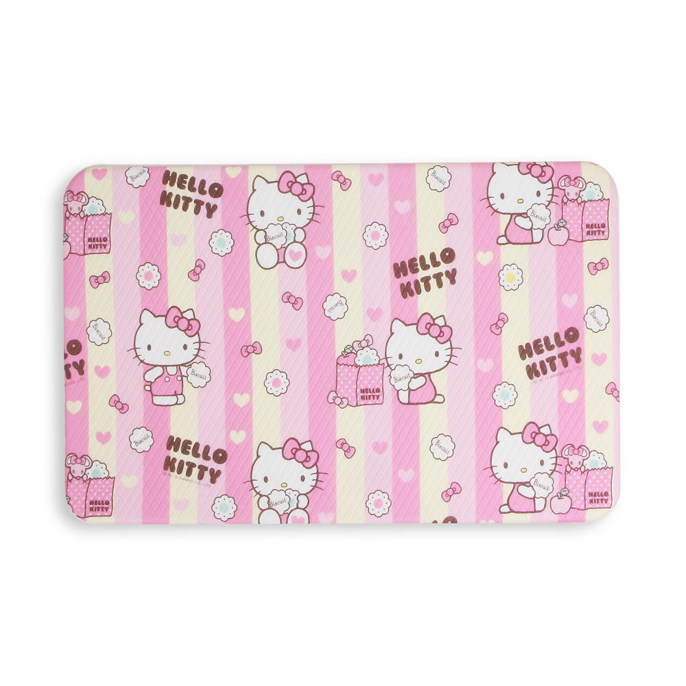Hello Kitty Hk Pink And Yellow 27 55 In X 17 32 Double Sided Pvc