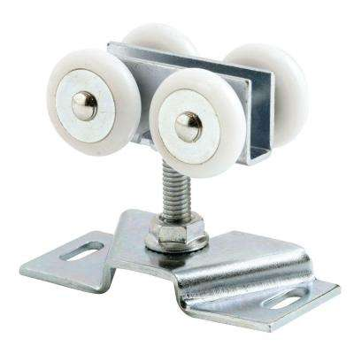 Nylon Ball Bearing Pocket Door Roller and Bracket (2-Pack)