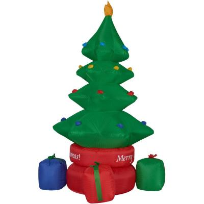 6.5 ft. Christmas Tree Inflatable with Lights
