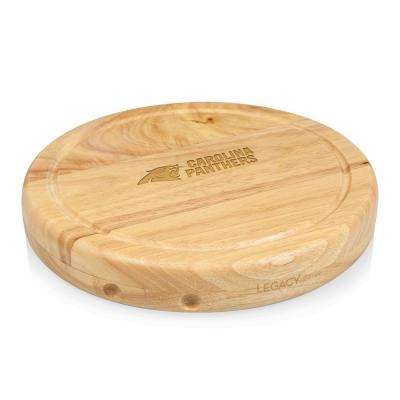 Carolina Panthers Circo Wood Cheese Board Set with Tools