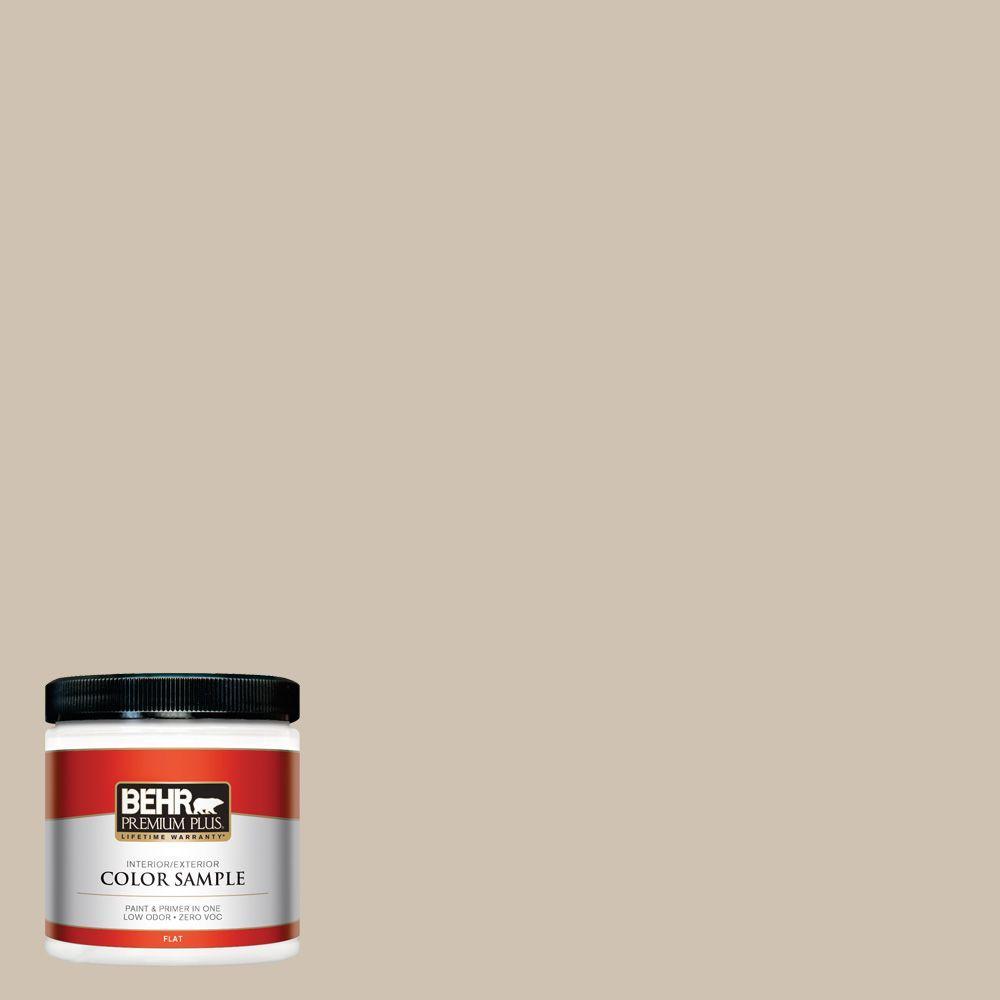 BEHR Premium Plus Home Decorators Collection 8 oz. #HDC-NT-13 Merino Wool Zero VOC Interior/Exterior Paint Sample