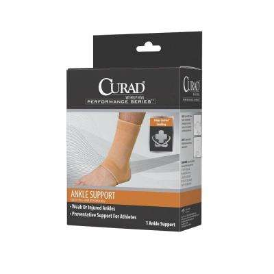 Small Elastic Open Heel Ankle Support