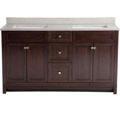 double vanity sink 60 inches. Brinkhill  Double Sink Bathroom Vanities Bath The Home Depot