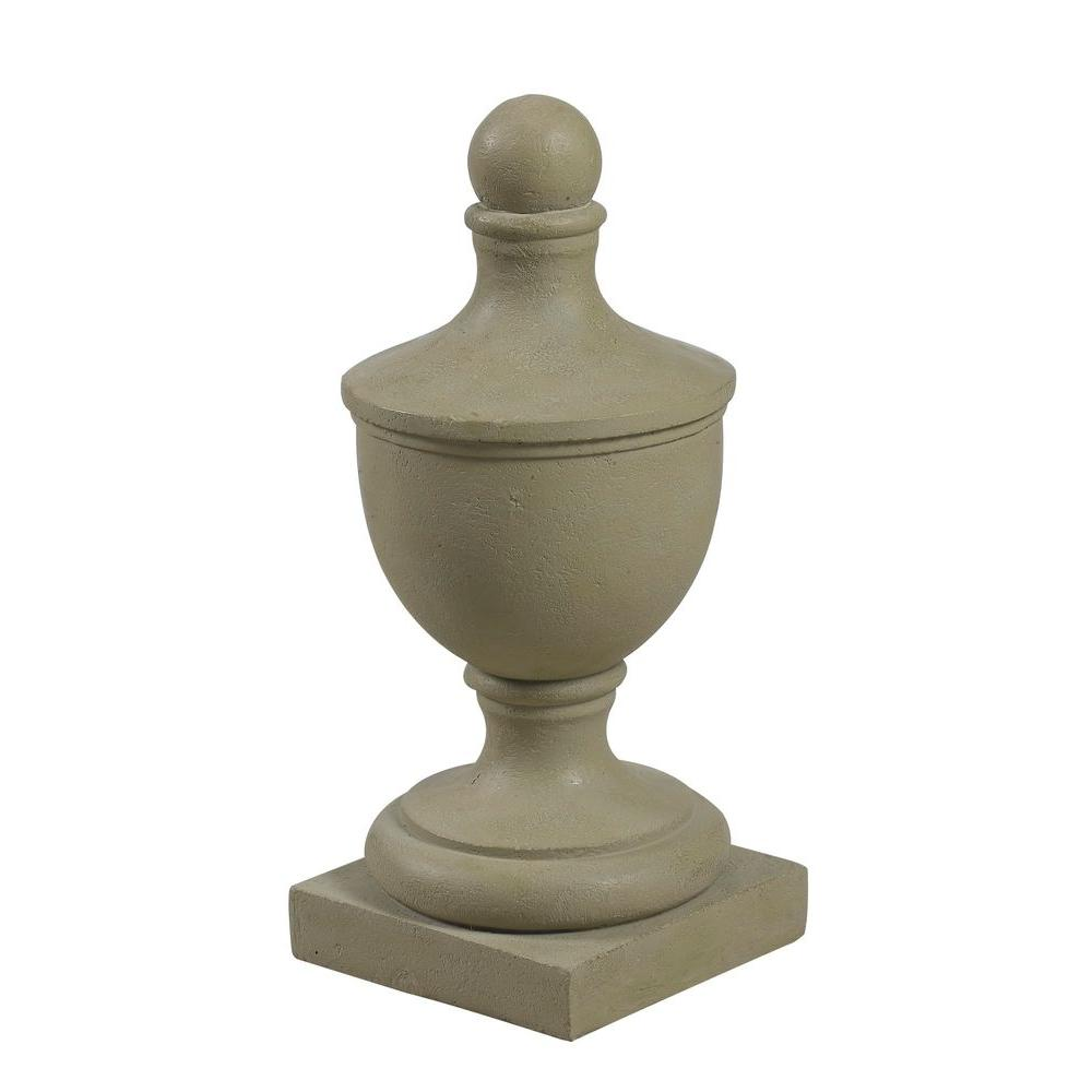 Kenroy Home 19 in. H Pawn Finial Garden Ornament-DISCONTINUED