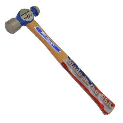 12 oz. Steel Ball Pein Hammer with 12 in. Hickory Handle