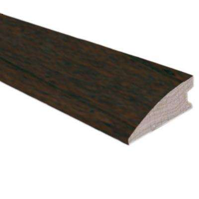 Hickory Chestnut 3/8 in. Thick x 1-1/2 in. Wide x 78 in. Length Hardwood Flush-Mount Reducer Molding