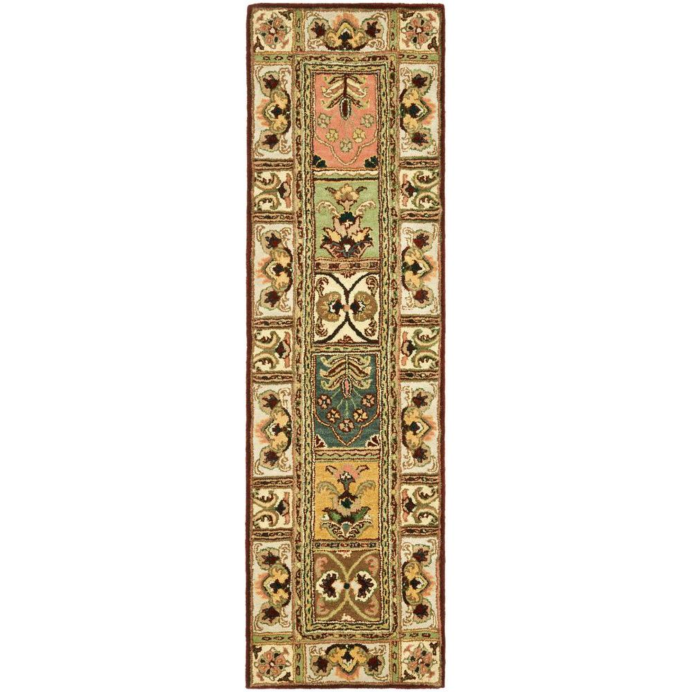 Safavieh Clic Orted 2 Ft X 20 Runner Rug Cl386a 220 The Home Depot