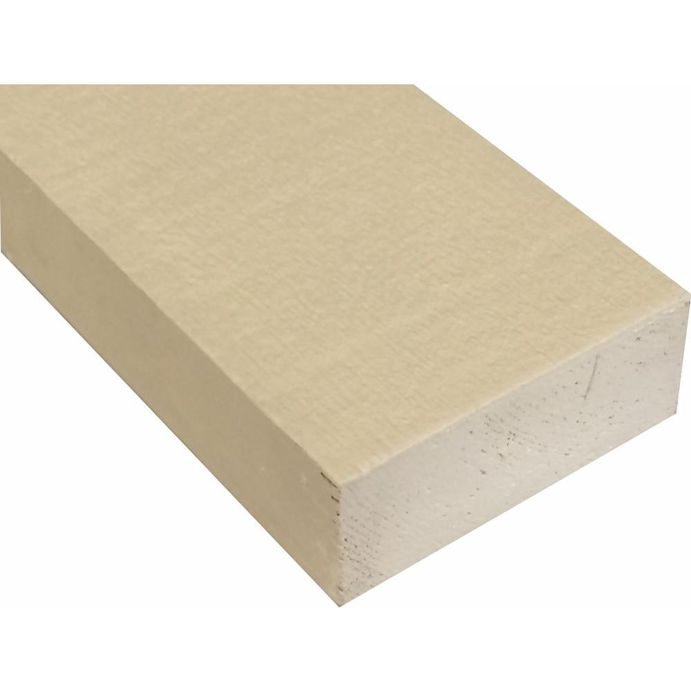 S1S2E Primed Finger-Joint Trim Board Pine(Common: 2 in. x 4 in.