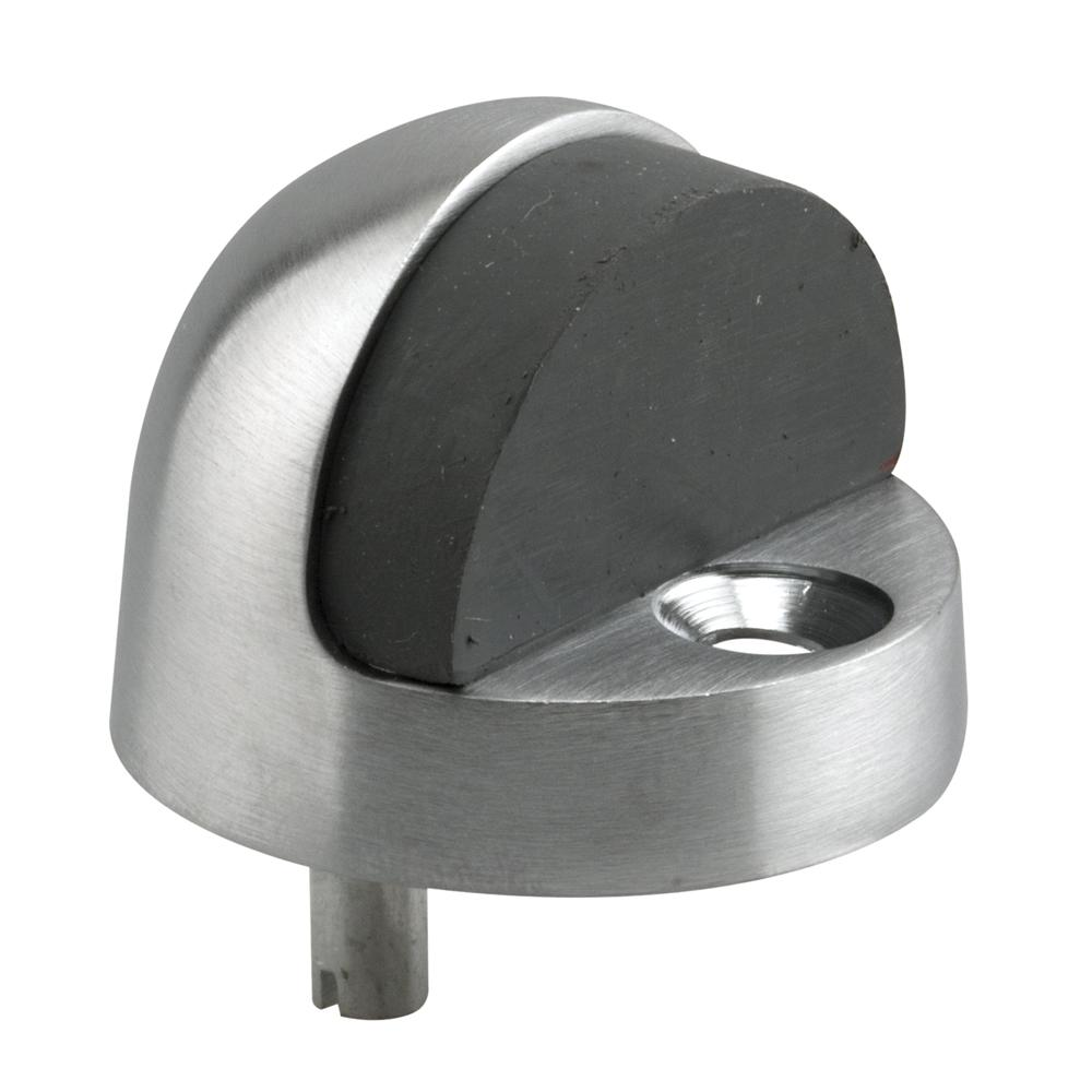 Prime Line 1 5 16 In Brushed Chrome Dome Type Door Floor Stop J