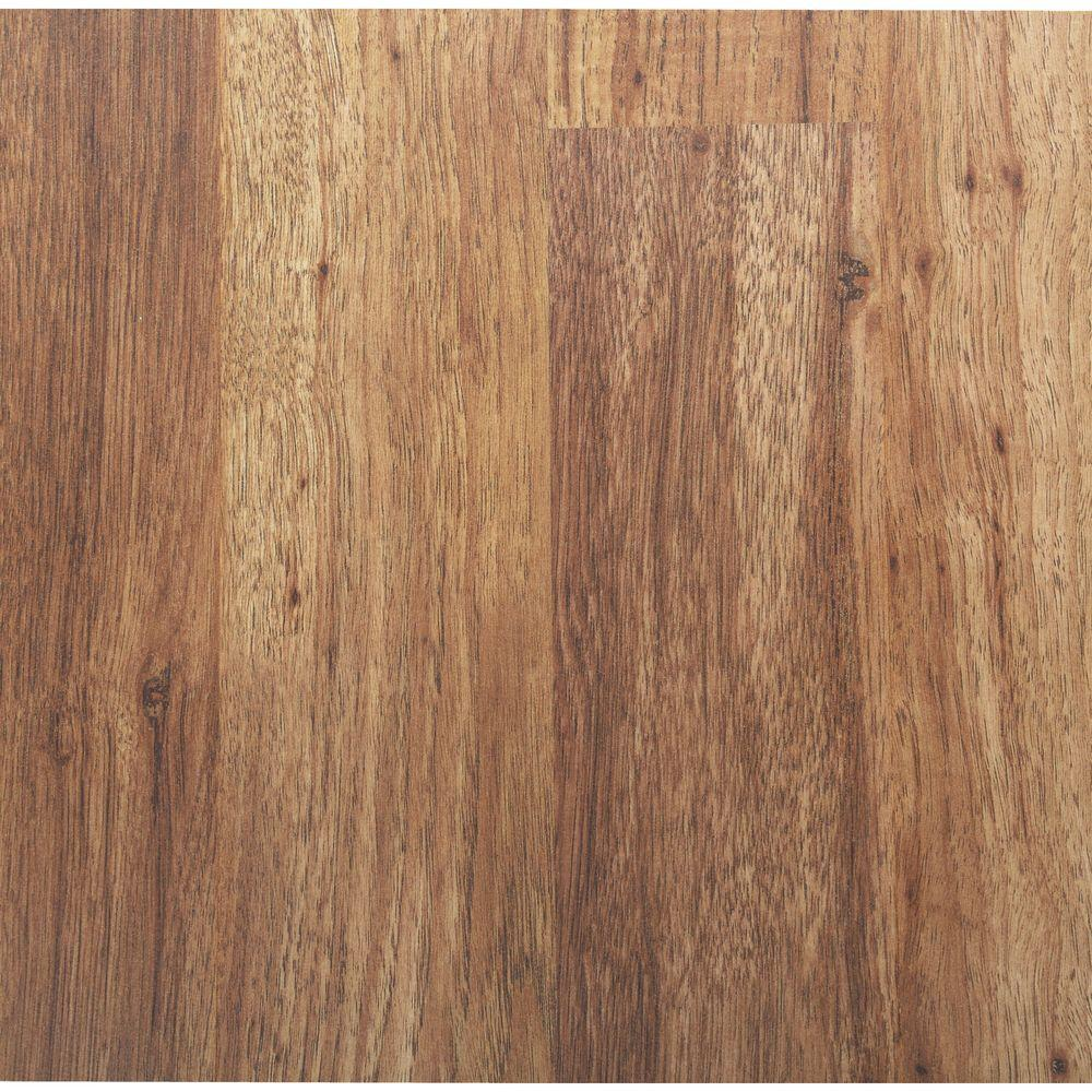 TrafficMASTER Eagle Peak Hickory 8 mm Thick x 7-9/16 in. Wide x 50-3/4 in. Length Laminate Flooring (21.44 sq. ft. / case)