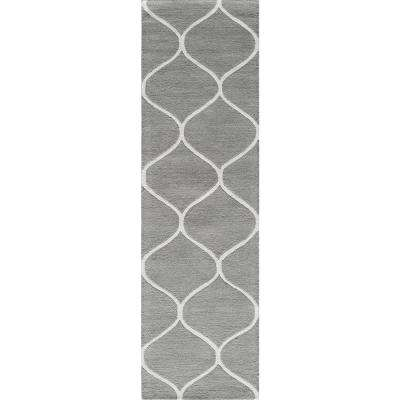 Newport Grey 2 ft. x 8 ft. Indoor Runner Rug
