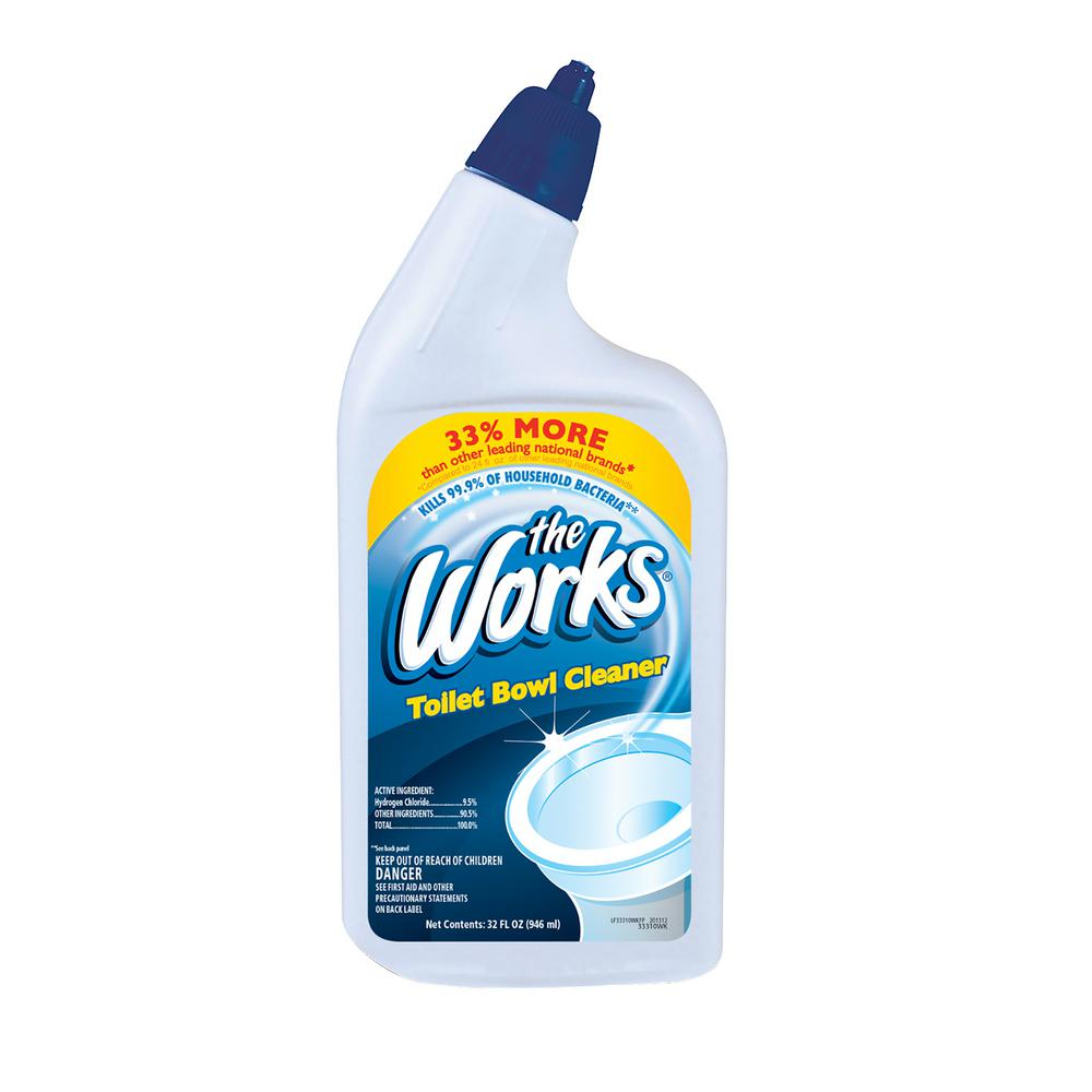 The Works 32 Oz Toilet Bowl Cleaner 653201wk The Home Depot