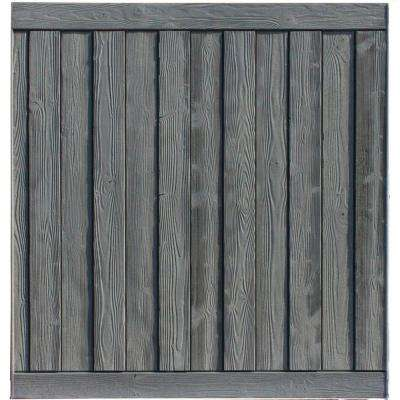 Ashland 6 ft. H x 6 ft. W Nantucket Gray Composite Fence Panel