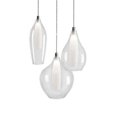 Jessa 1-Light 40-Watt Equivalence Chrome Integrated LED Pendant